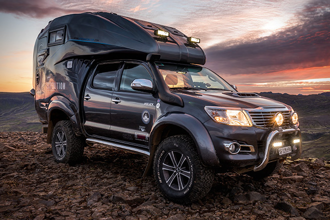 Modified Toyota Hilux An innovation inspires you to try it ...